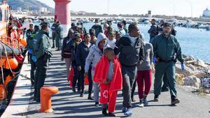 Llegan a España más de 450 inmigrantes por mar en las últimas horas