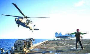 Cinco militares mueren al caer helicóptero en EU