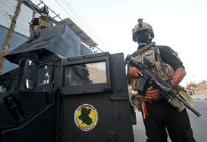 Mueren 12 policías iraquíes en un ataque atribuido al Estado Islámico