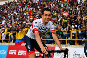 Fabio Aru tras sus últimas pedaladas: 'Amo la Vuelta'