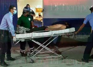 Sujeto de Monclova es herido con un rifle de balines en el pecho
