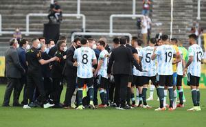 Conmebol obligó a Argentina a salir de la cancha, señala la AFA