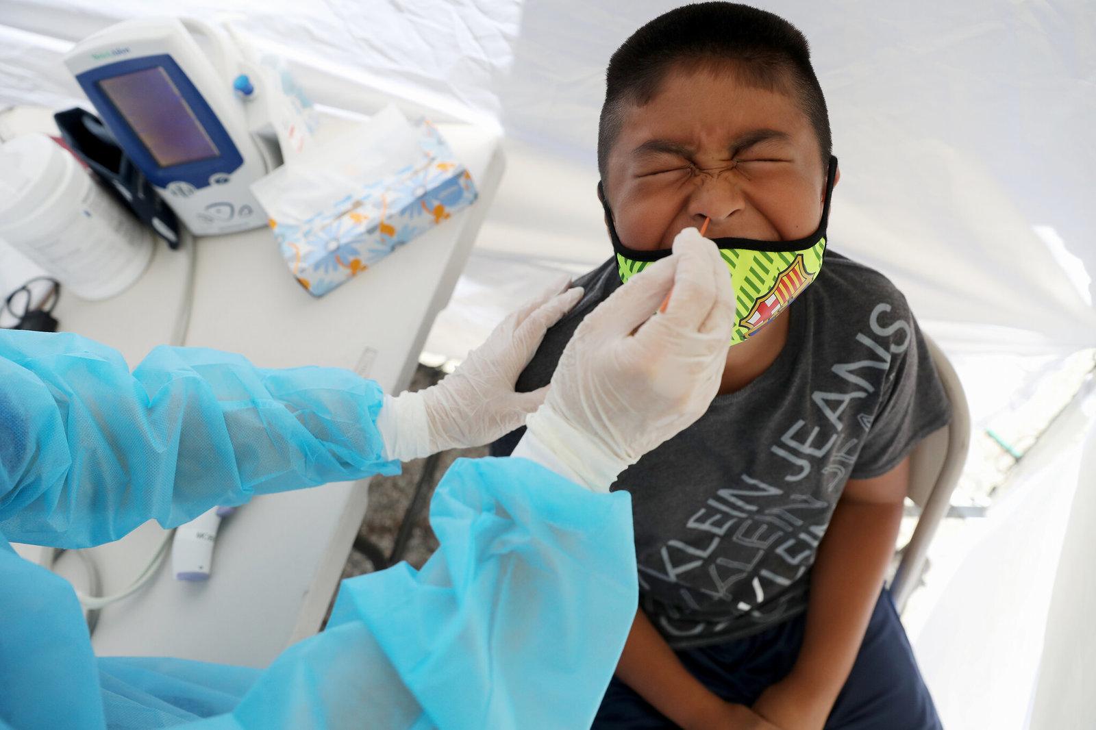 12 mil niños se contagian de COVID-19 en las últimas 3 semanas