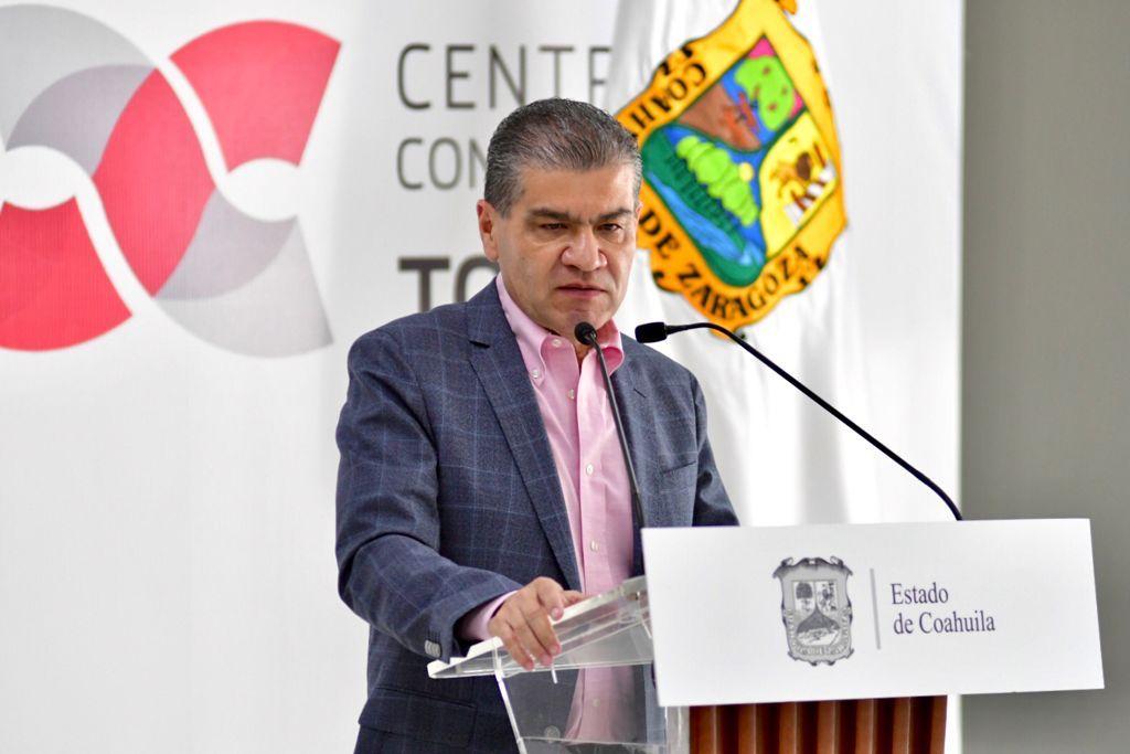 """Miguel Riquelme: """"Recortes federales pulverizan eficiencia recaudatoria de Coahuila"""""""