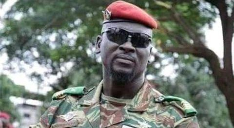 El coronel Mamady Doumbouya, el nuevo hombre fuerte de Guinea-Conakri