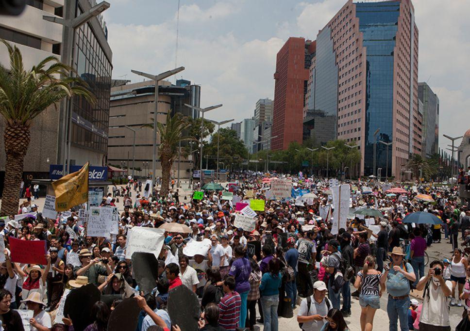 Manifestaciones CDMX: ¿Cuántas, dónde y a qué hora?