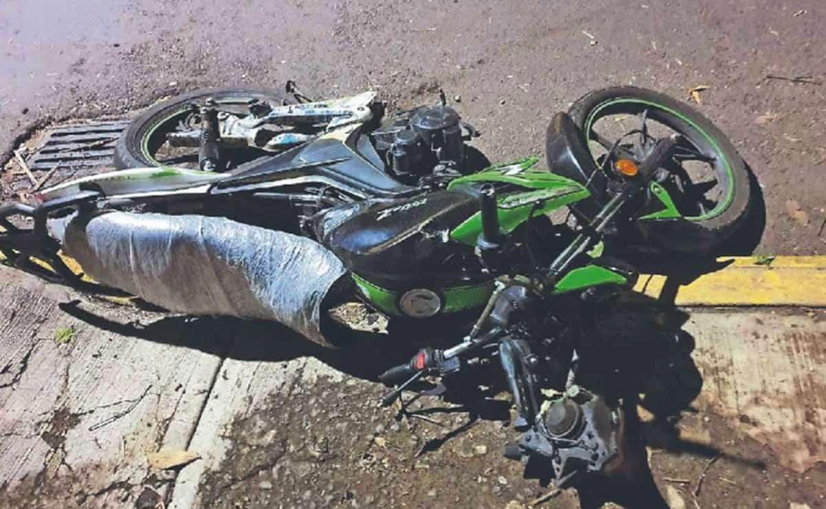 Accidente en moto deja dos muertos y un herido en Xochimilco