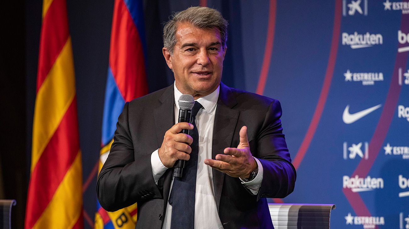 Joan Laporta: 'El Barça aún está en la UCI, pero está mejorando'