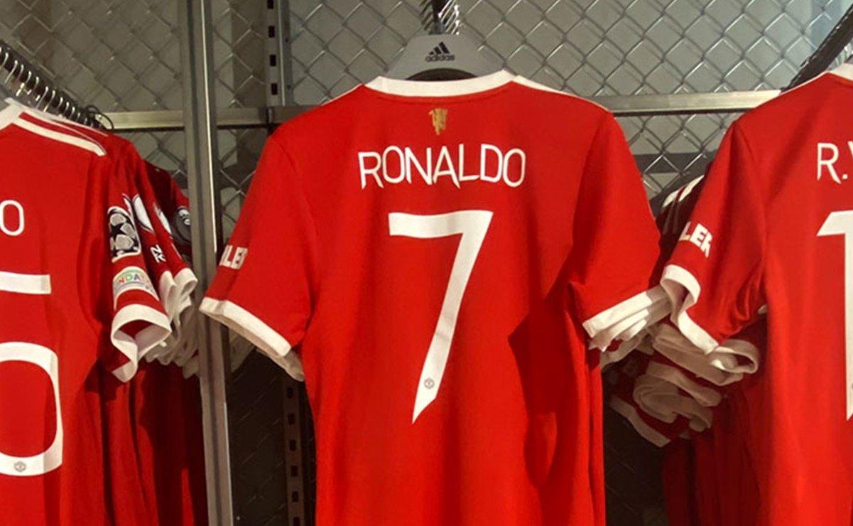 Cristiano Ronaldo supera a Lionel Messi en playeras vendidas