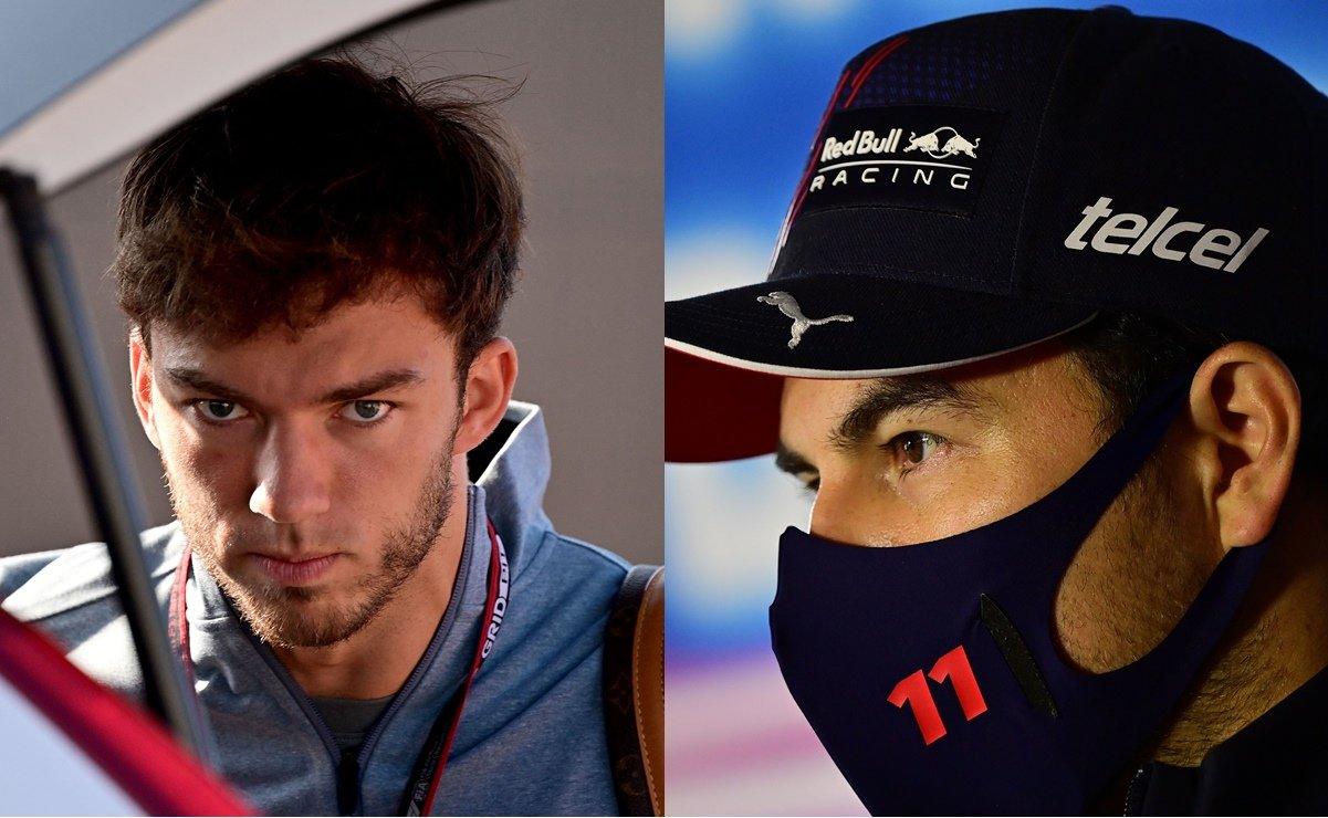 Pierre Gasly quiere quitarle el lugar a Checo Pérez en Red Bull