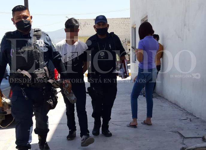 Joven roba herramienta de su trabajo y es detenido en Monclova