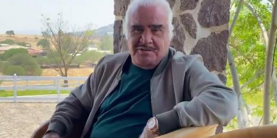 ¿Vicente Fernández se contagió de COVID-19? Esto dice el hijo del cantante