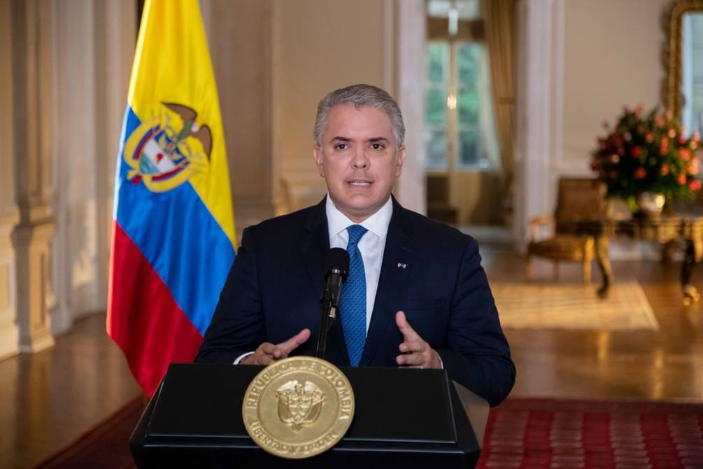 Duque insiste en que Maduro debe dejar el poder y convocar elecciones