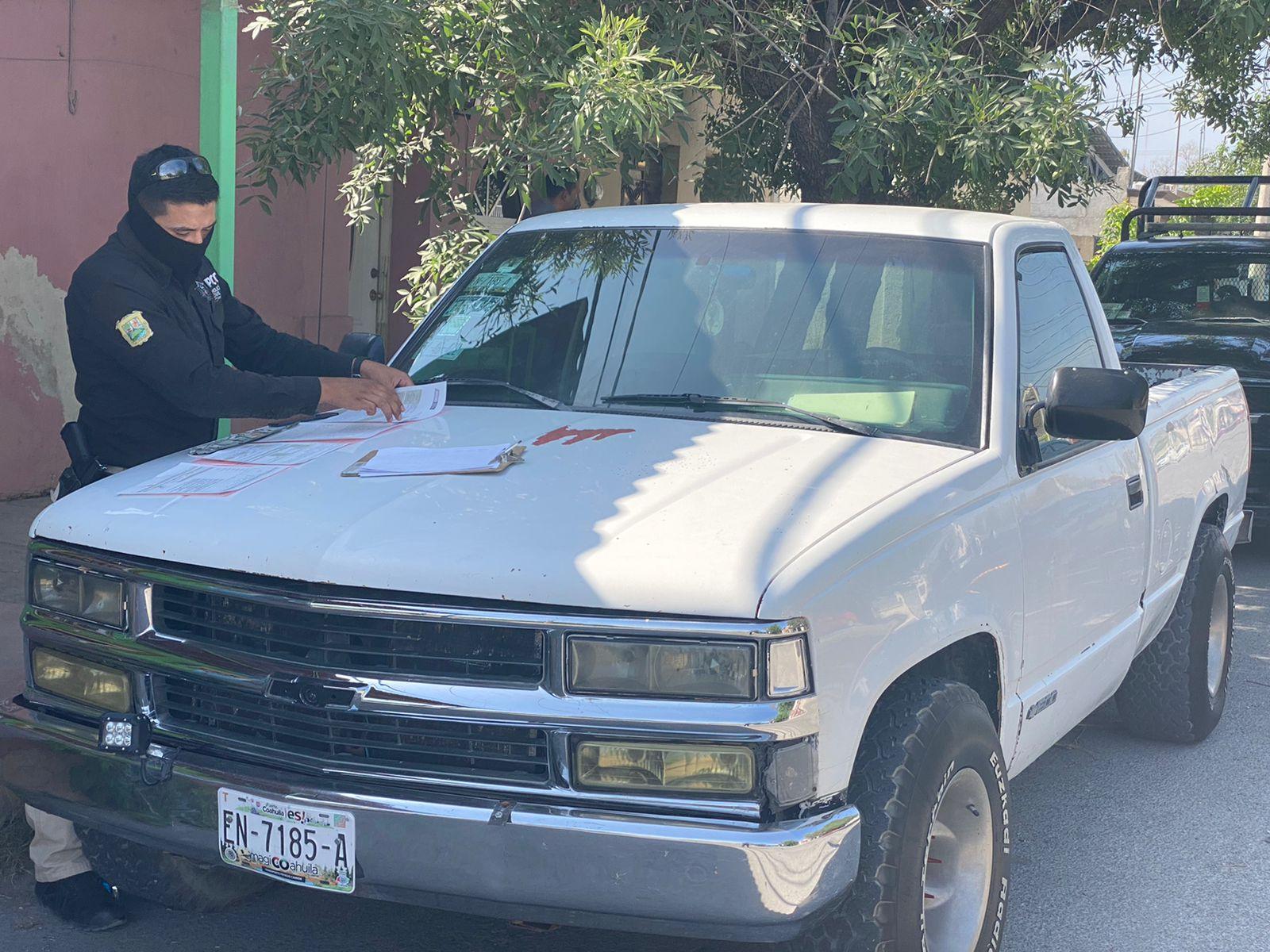 Elementos del Estado realizan operativo de placas vencidas en Frontera