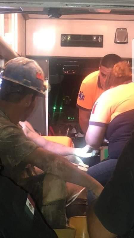 Autoridades reportan 4 mineros atrapados en derrumbe de mina en Obayos