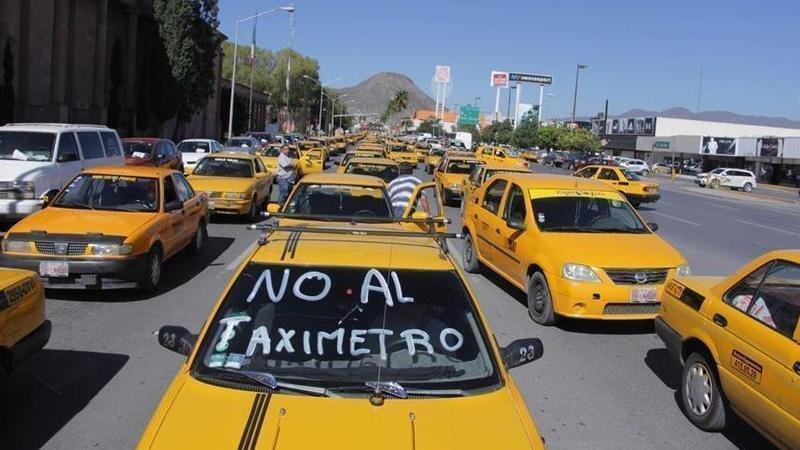Tarifa de taxi aumenta en la capital del Estado