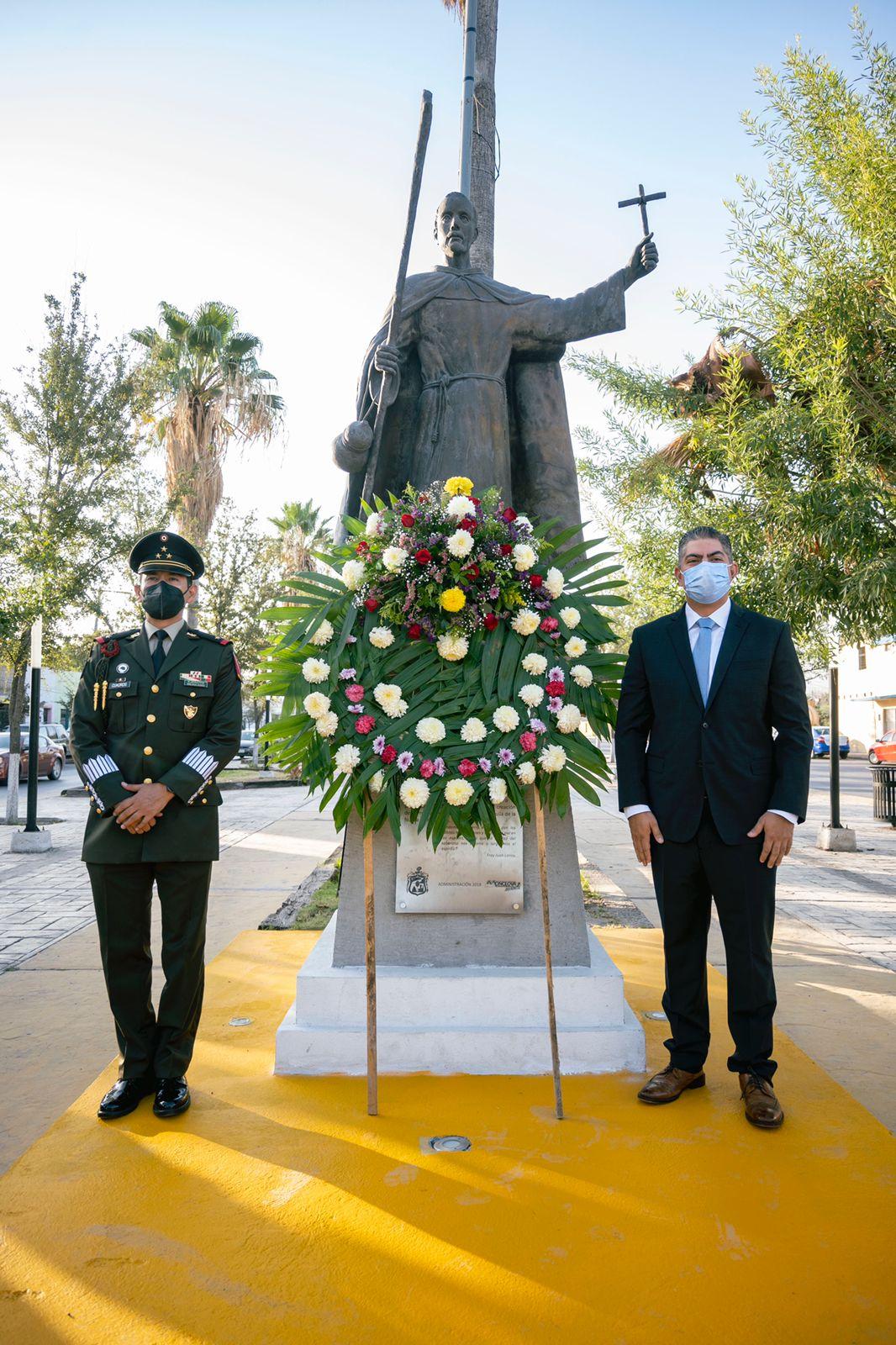 Juan Larios; Fundador de Coahuila