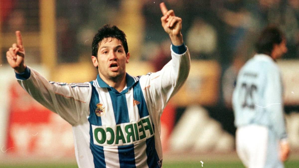 Las Palmas recuerda el 25 aniversario del debut del argentino 'Turu' Flores