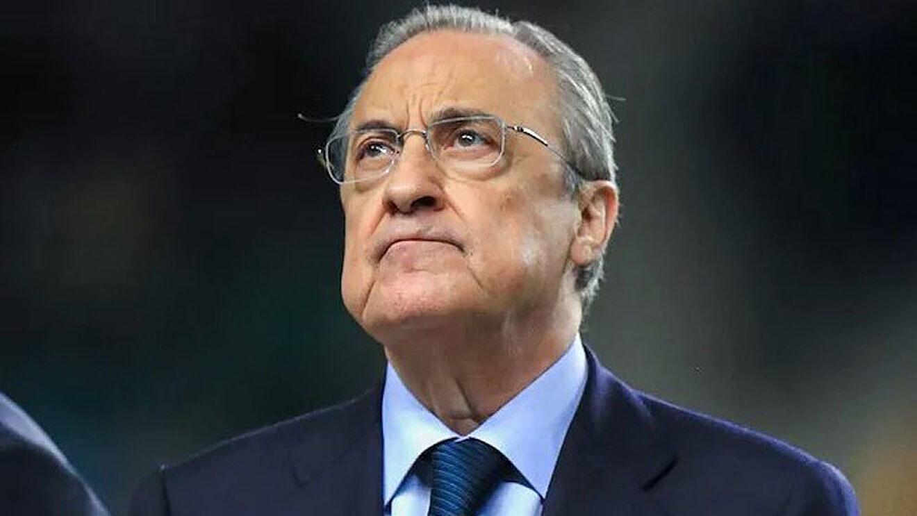 Florentino Pérez: 'Camavinga quería defender este escudo'