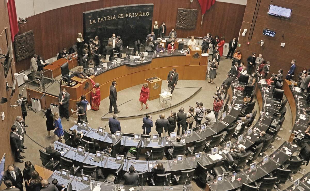 Alistan comparecencias de secretarios de Estado en el Senado