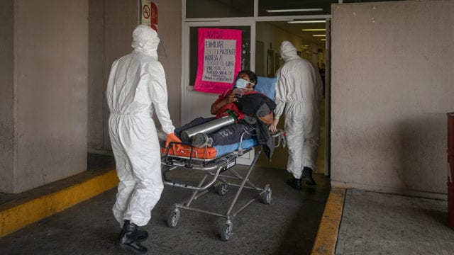 COVID-19: 265 mil 420 las defunciones por coronavirus en México