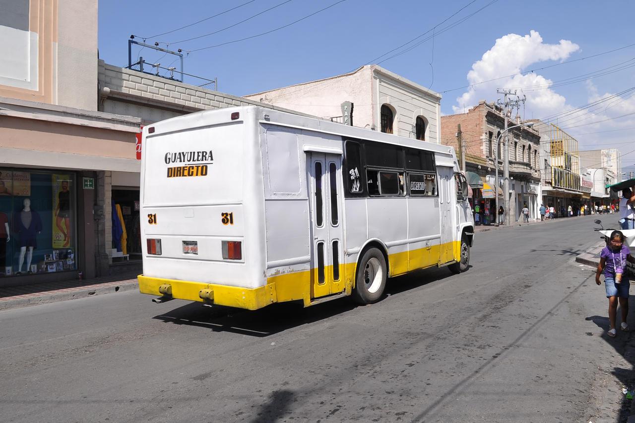 Saltillo reactiva cien rutas del transporte
