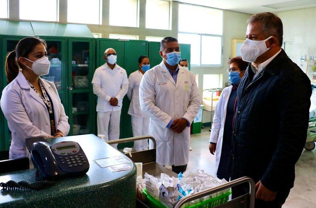 Secretario de Salud: 'No hay atraso en vacunas contra COVID-19 en Edomex'