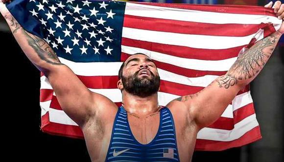 WWE firma a Gable Steveson, medallista olímpico en Tokio 2020