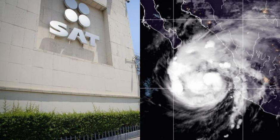 SAT cierra oficinas en La Paz y Los Cabos por huracán 'Olaf'