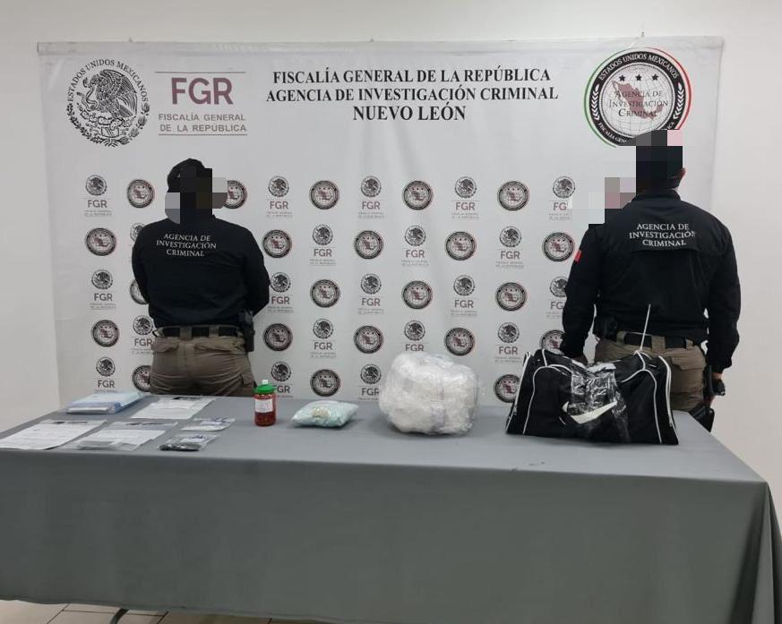 Policías aseguran más de 50 kilos de narcóticos en una vivienda de Monterrey