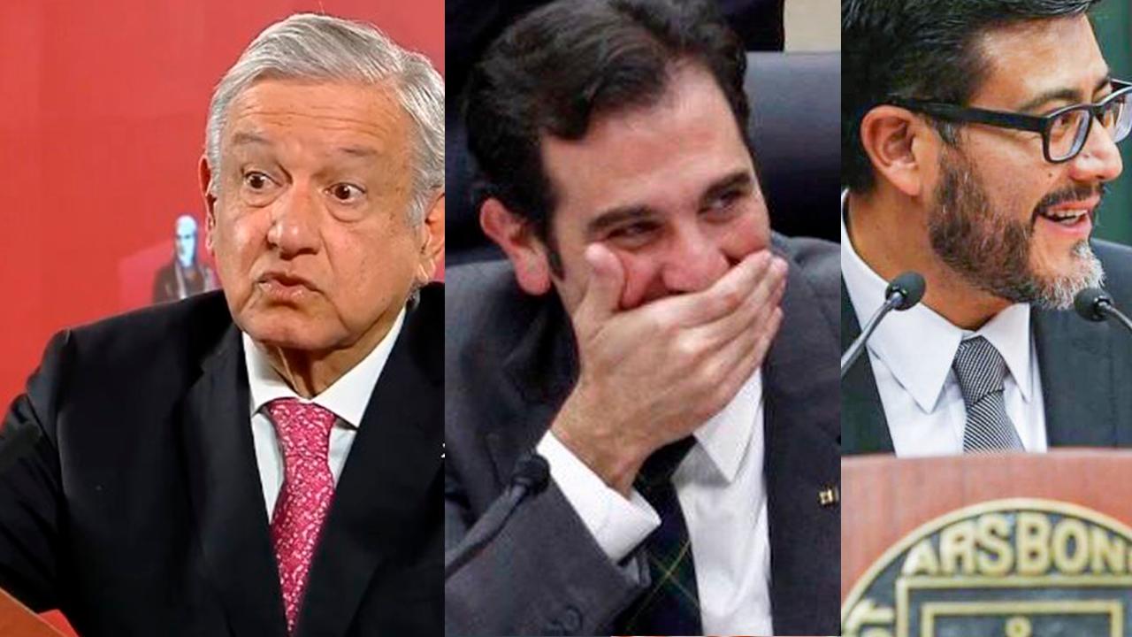 AMLO exhibe sueldos de titulares del INE y TEPJE
