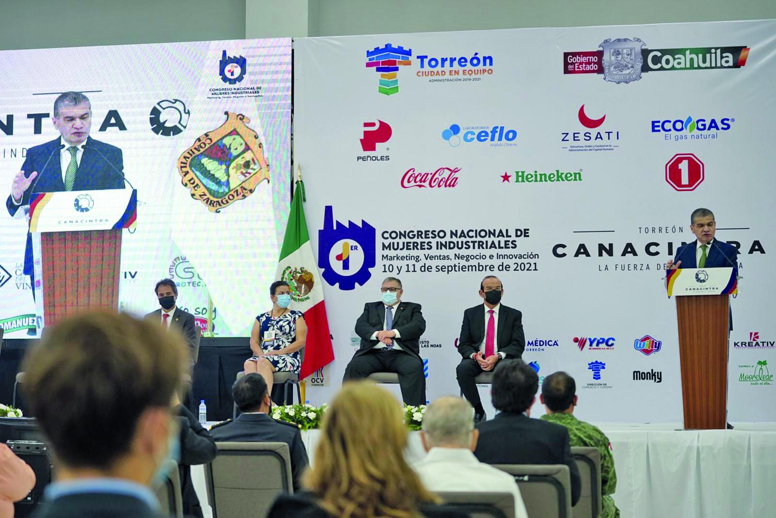 """Miguel Riquelme: """"Coahuila está unido y en marcha"""""""