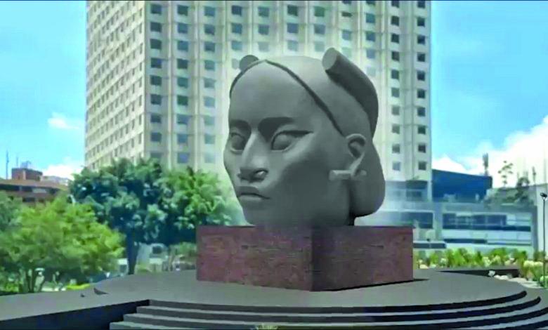 Escultura de mujer indígena que sustituirá a Cristóbal Colón es criticada