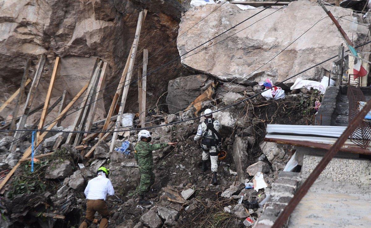 Vecinos ya habían denunciado fallas en el Cerro del Chiquihuite