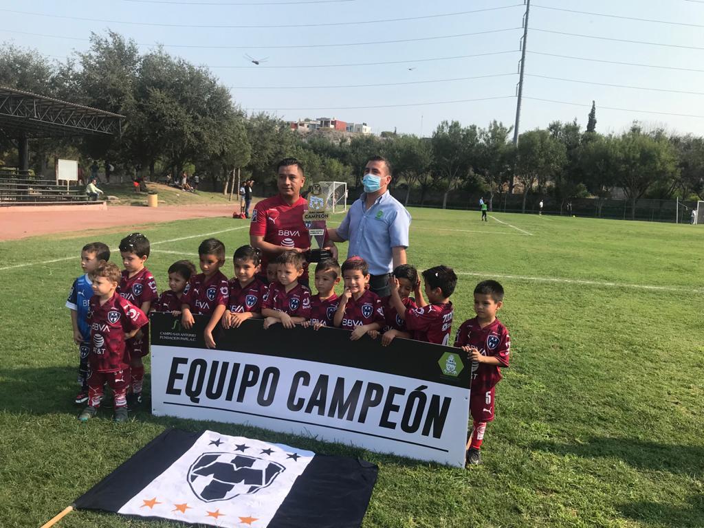Rayados es campeón de Biberones ante el Sector Oriente