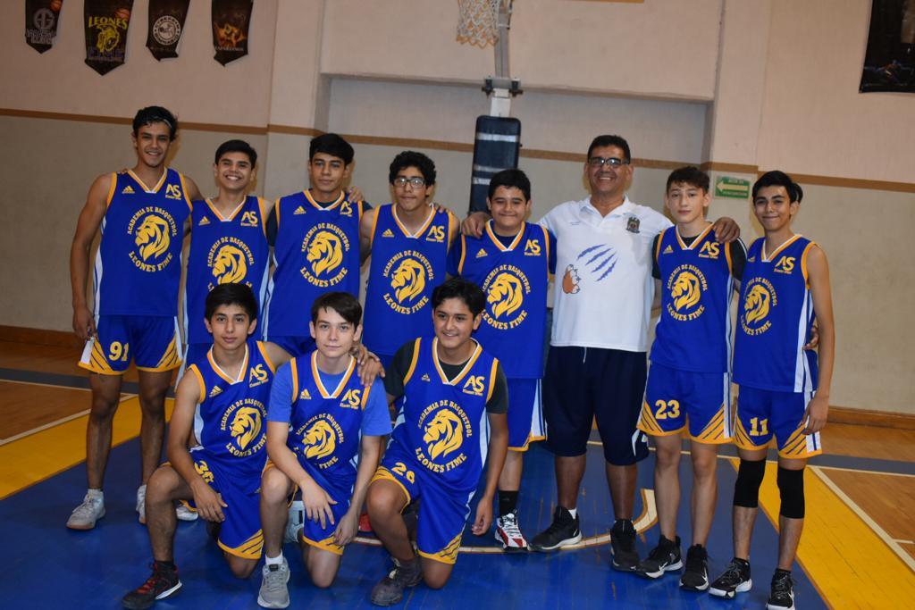 Leones simplemente son los campeones del basquetbol de la Fime