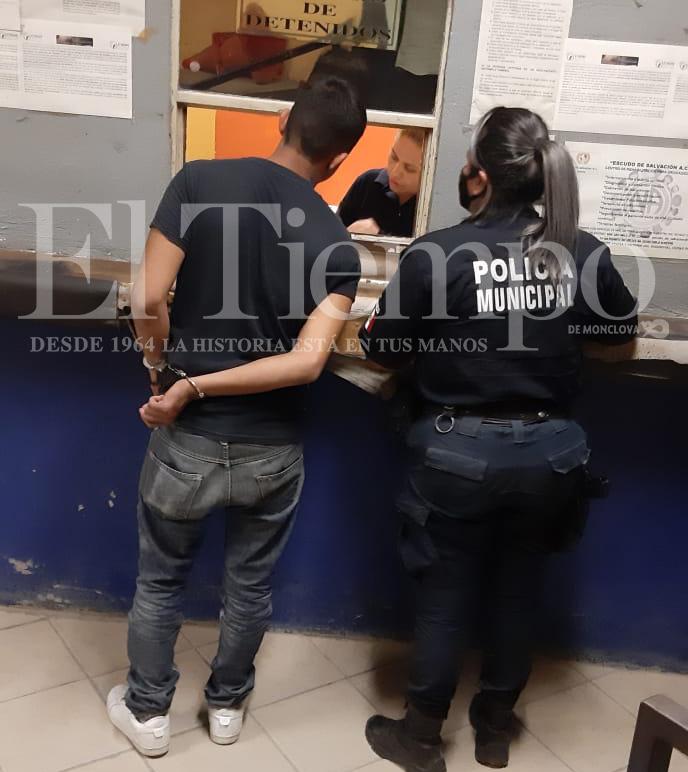 Carlos N fue detenido por merodear domicilios ajenos en la Hipódromo de Monclova