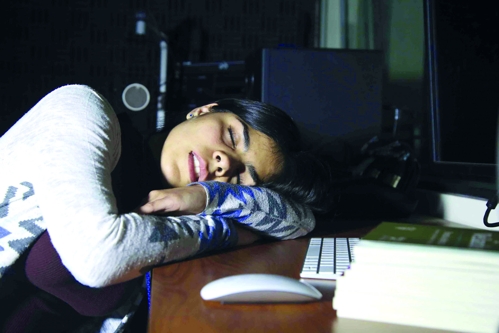Niños y jovencitos con dolores de cabeza