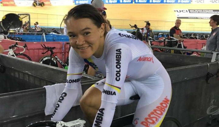Colombiana Martha Bayona gana su tercer oro en la Copa de Naciones de pista