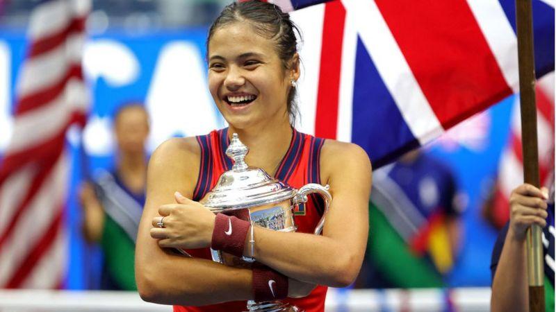 La hazaña de Emma Raducanu, la adolescente británica que ganó el US Open rompiendo varios récords en el tenis
