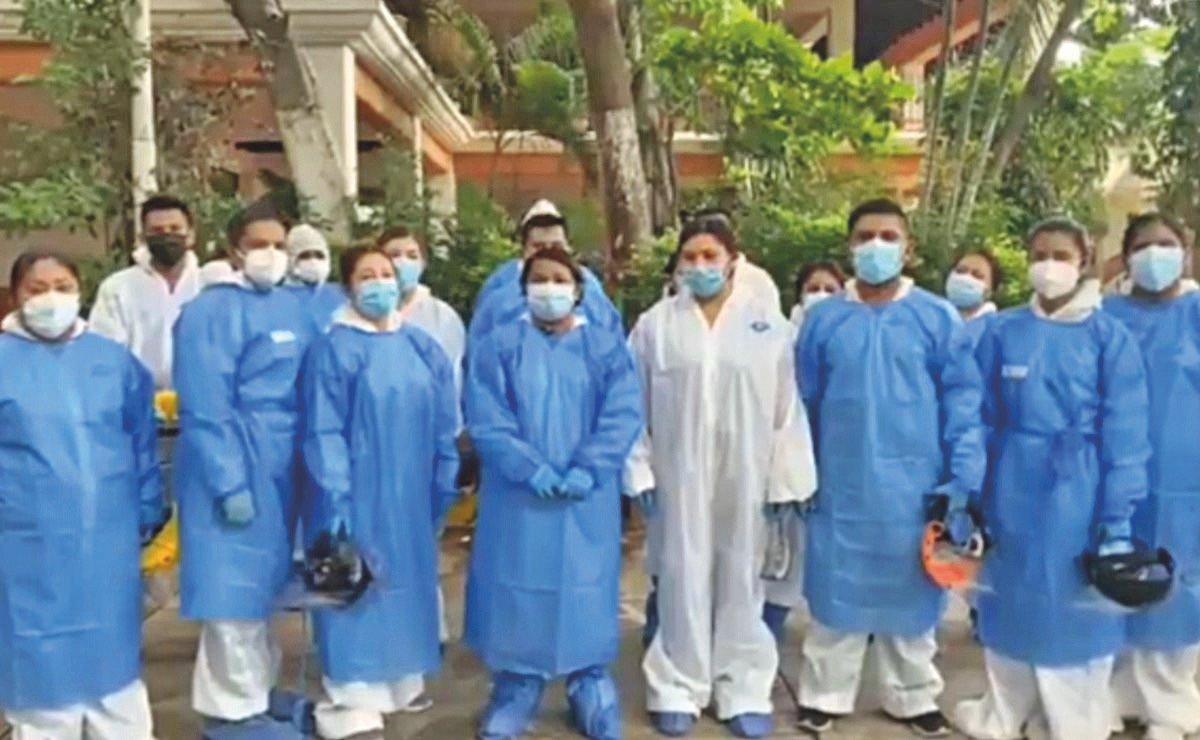Pese a promesa de AMLO, abandonan a personal de Hospital Insabi