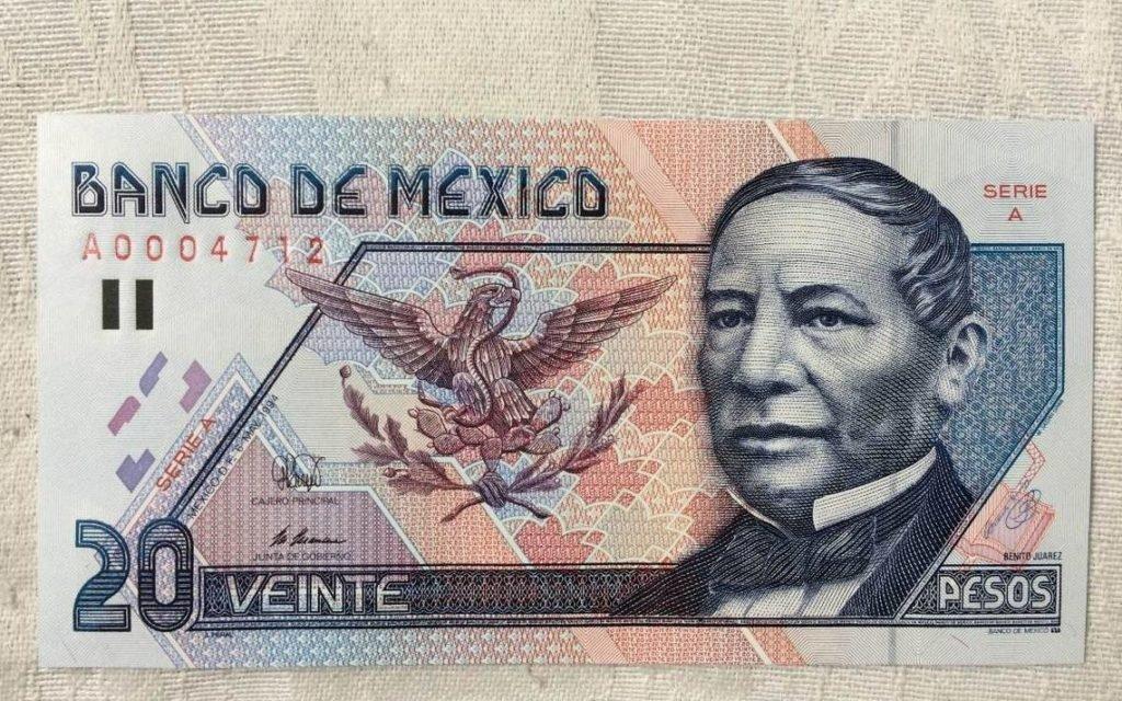 ¿Lo guardaste? Este billete de 20 pesos con Benito Juárez se vende hasta en 90 mil en internet