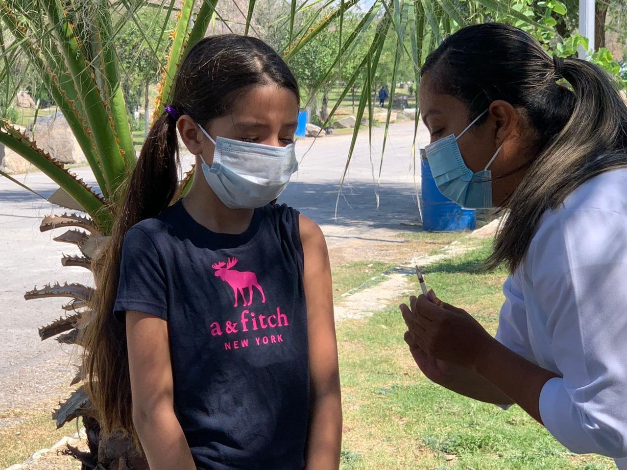 En el Ecoparque de Monclova aplican aniños la vacuna triple viral
