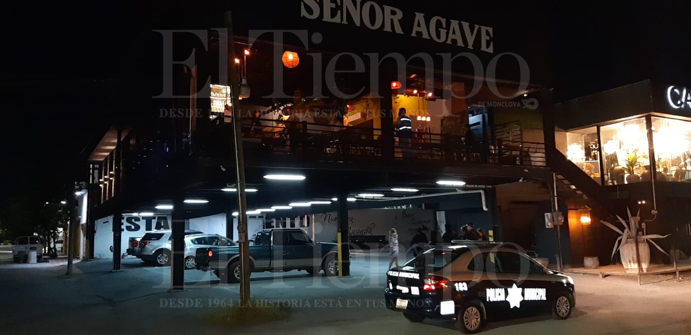Autoridades clausuran el bar 'Señor Agave' en Monclova