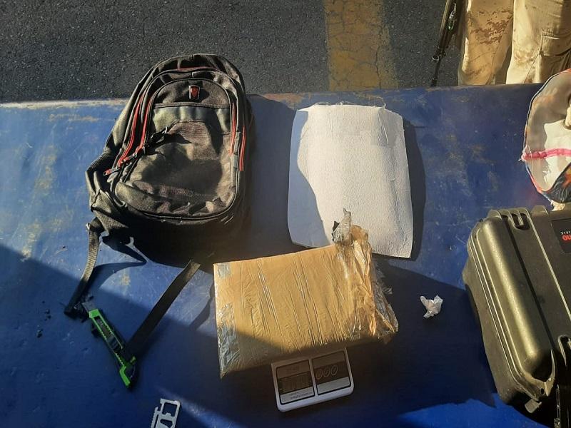 Detienen a mujer con cerca de 2 kilos de metanfetaminas en Allende