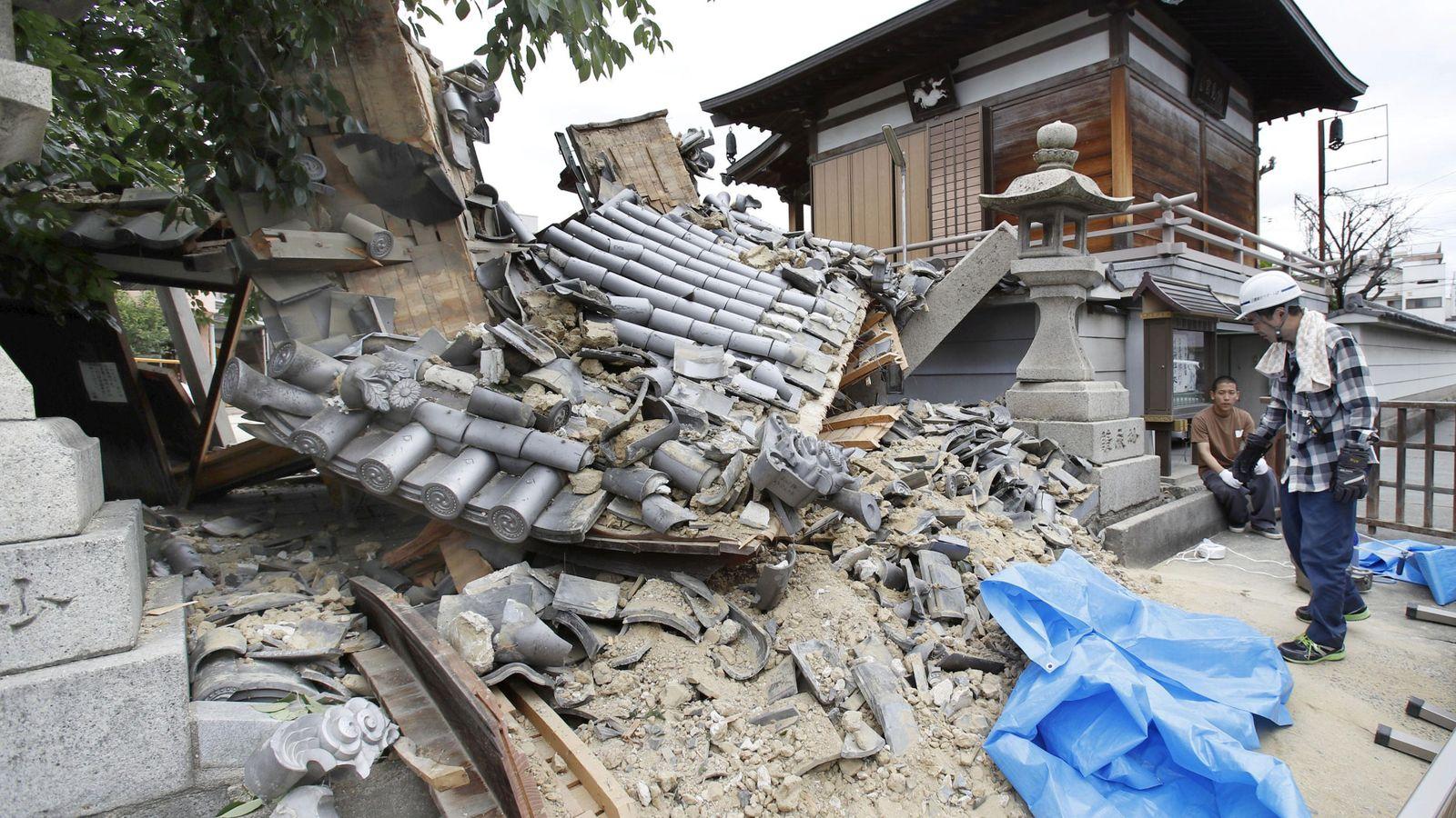 Un terremoto de magnitud 6.2 se deja sentir en Japón sin percances