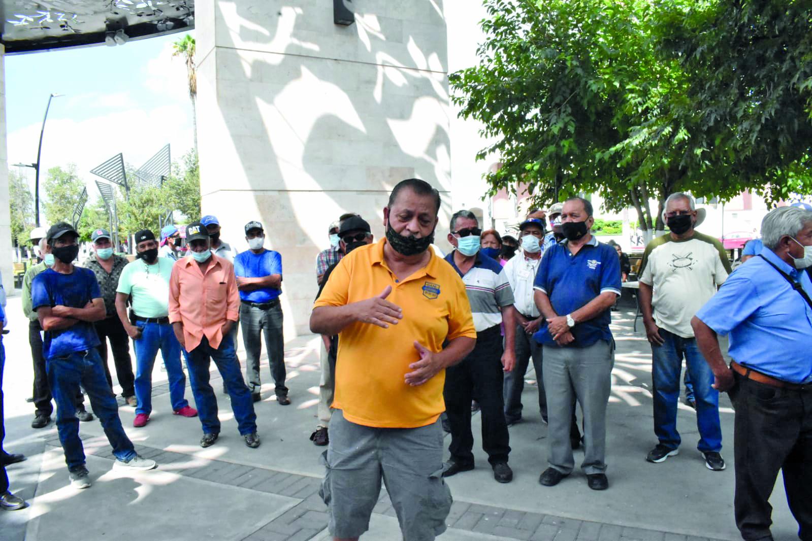 Ex obreros de Altos Hornos reforzarán los movimientos