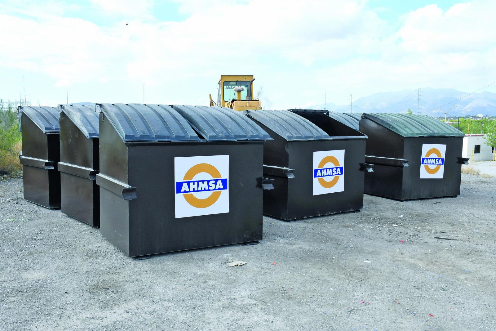 50 contenedores refuerzan el servicio de limpieza en Monclova