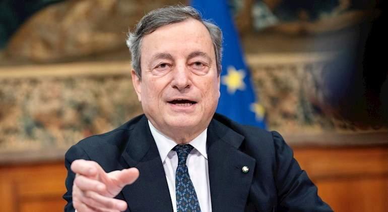 Draghi reclama a la UE 'no ignorar el drama' de los refugiados afganos