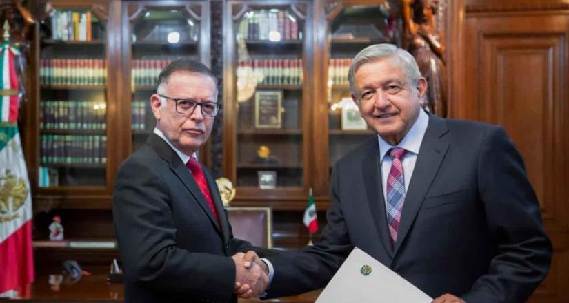 AMLO recibirá cartas credenciales de embajador de EU en México